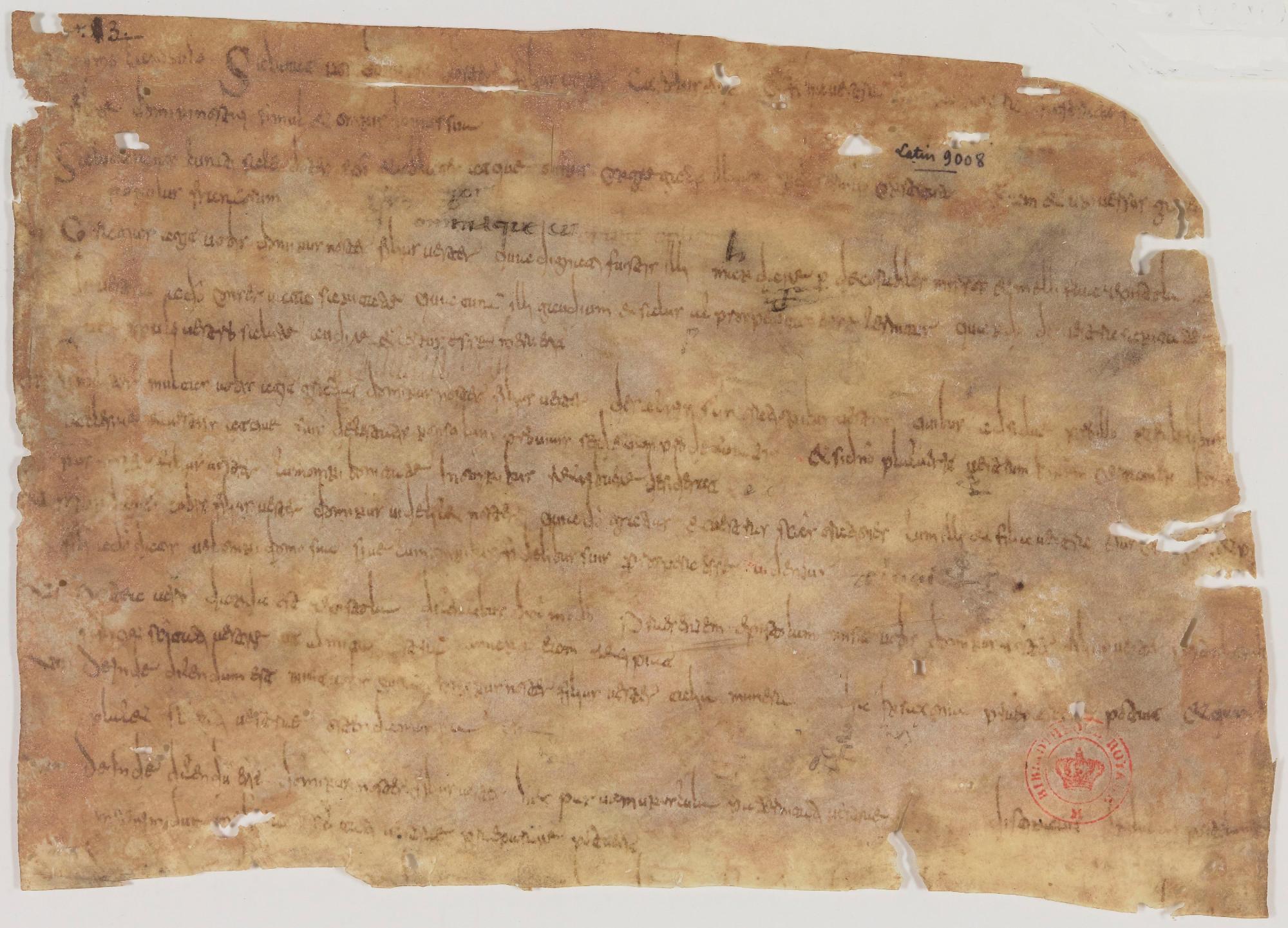 Instructions de Charlemagne à ses envoyés, en 785
