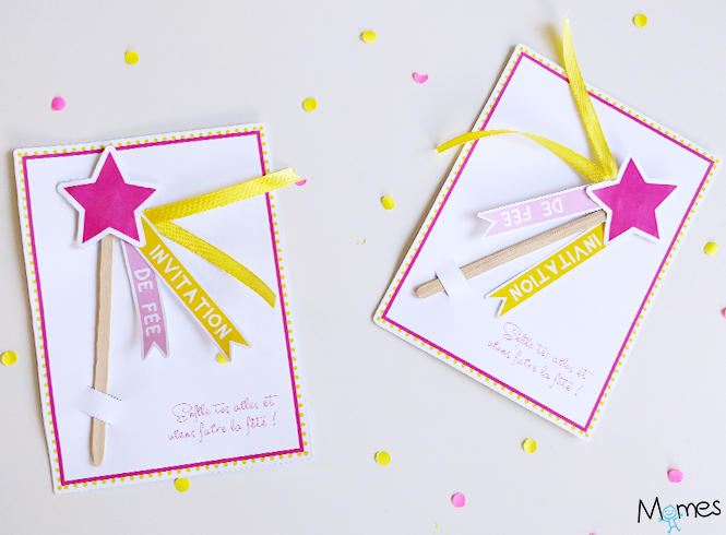 invitation baguette magique