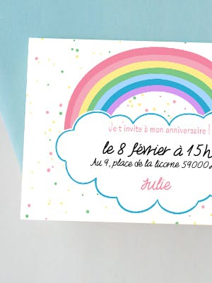 Invitation arc en ciel imprimer - Image arc en ciel gratuite ...