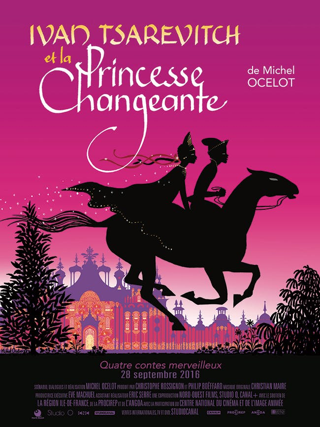 Affiche du film Ivan Tsarévitch et la Princesse Changeante