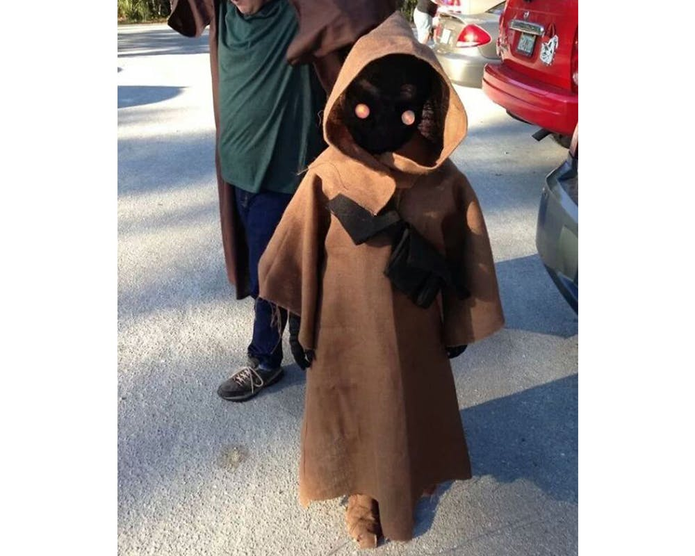 Jawa Star Wars déguisements costume Halloween enfants