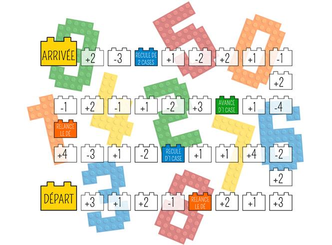 Plateau de jeu Calculo'Brick