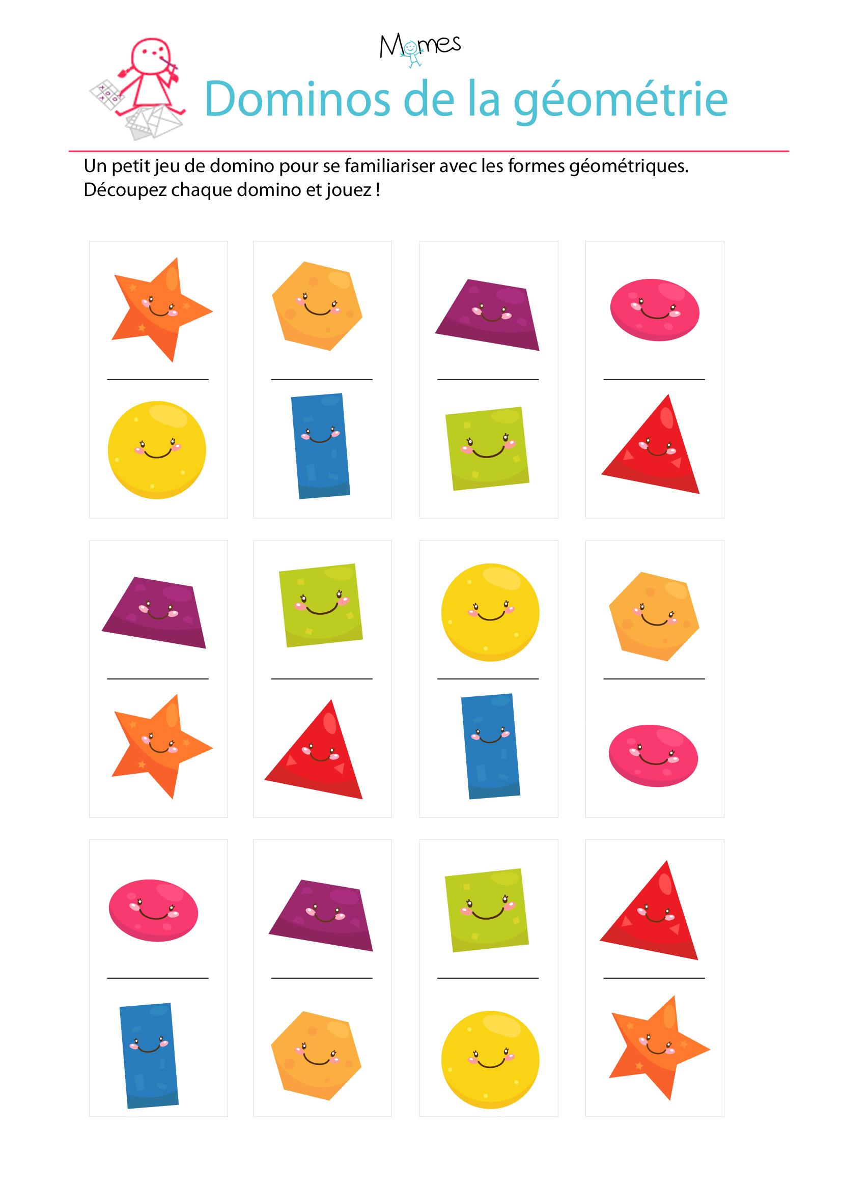 domino géometrie