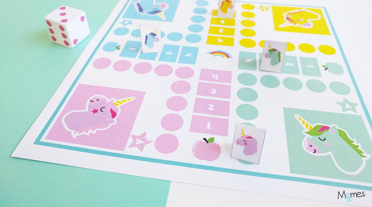 jeu de petits chevaux à imprimer