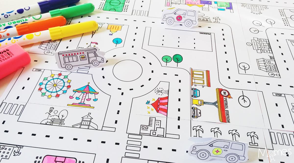 Jeu de route imprimer - Jeux de coloriag ...