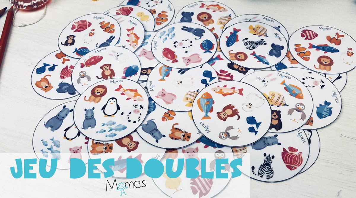 dobble jeu de carte a imprimer Jeu des Doubles à imprimer   Momes.net