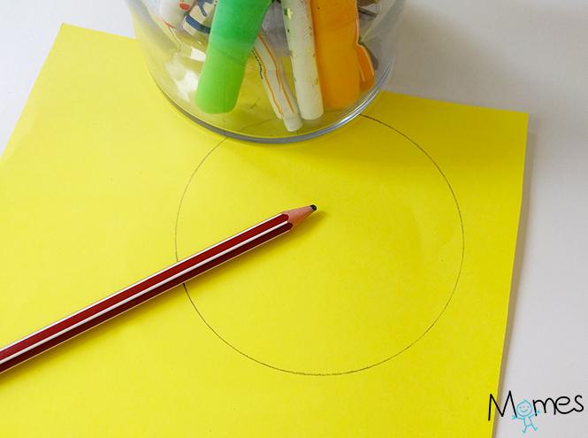 tracer un contour maternelle