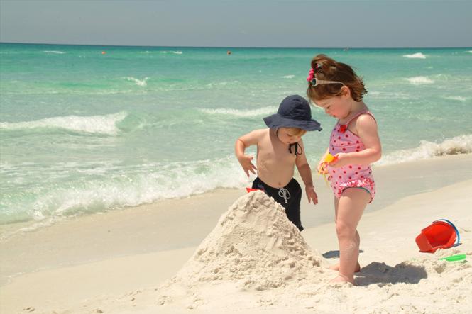 jeux plage enfants