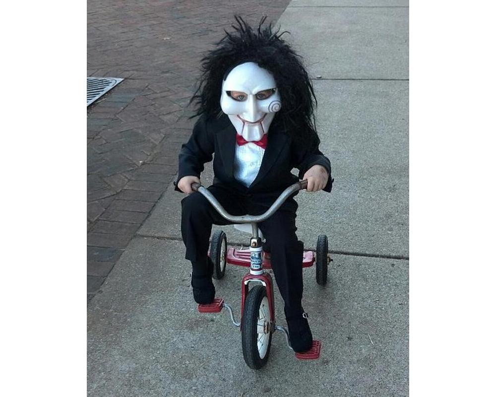 Jigsaw de Saw déguisements costume Halloween enfants