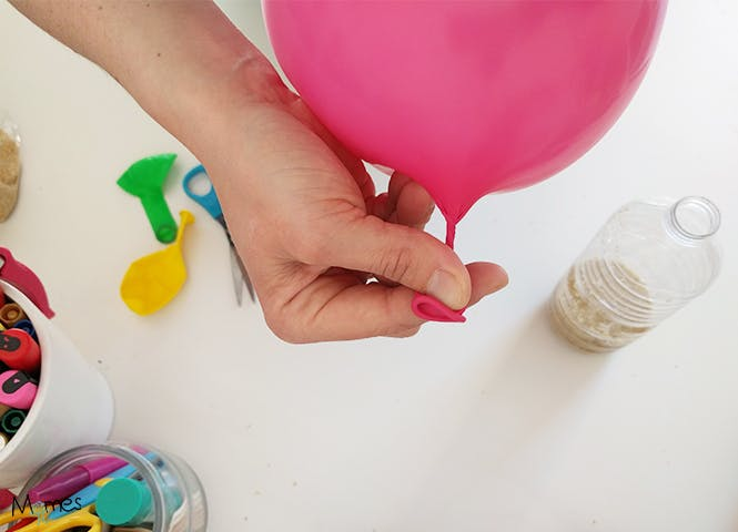 bricolage avec des ballons de baudruches