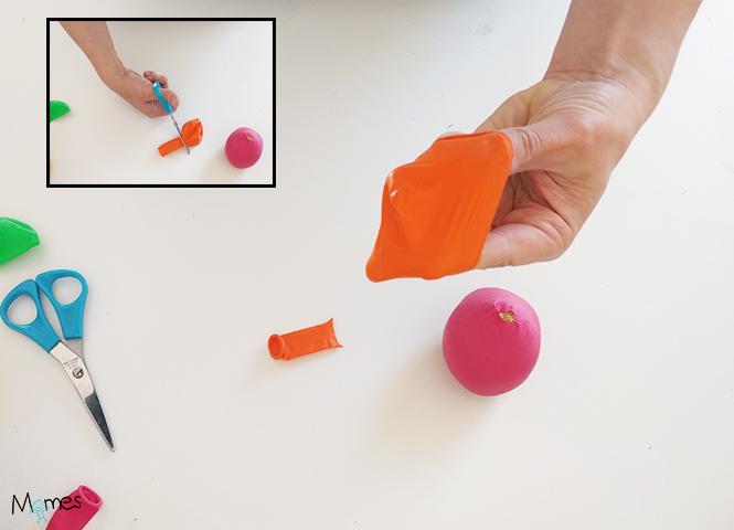 diy balle de jonglage
