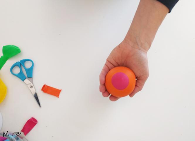 faire une balle de jonglage