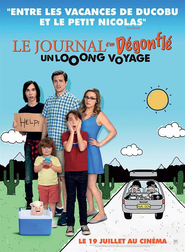 Journal d'un dégonflé : Le Looong Voyage - affiche