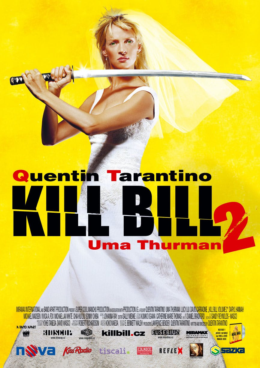 Affiche Kill Bill Volume 2
