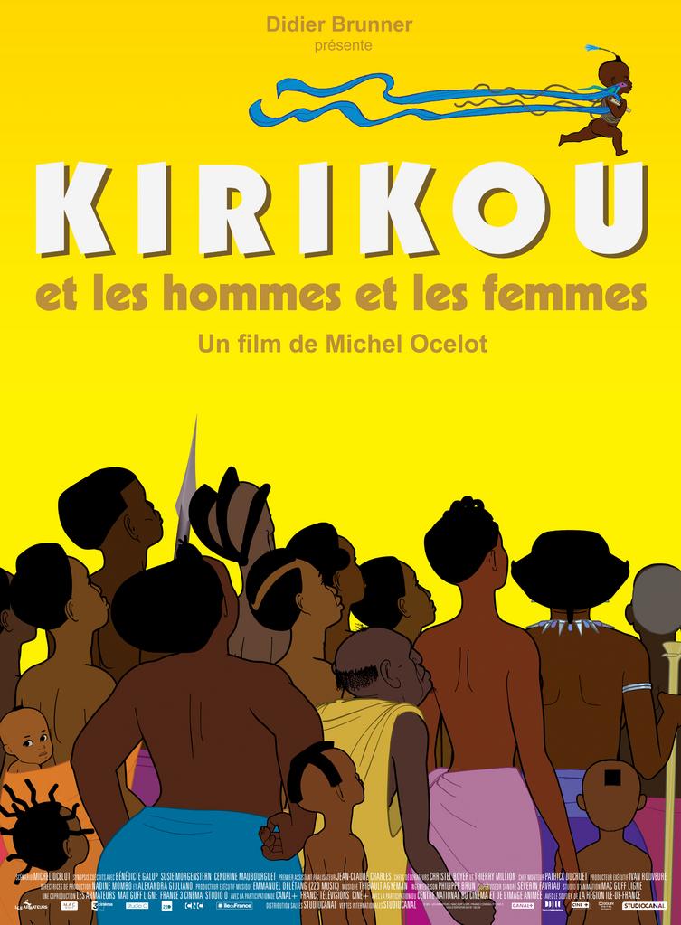 Affiche Kirikou les hommes les femmes