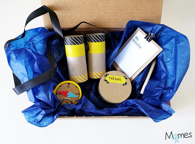 fabriquer un kit d'explorateur