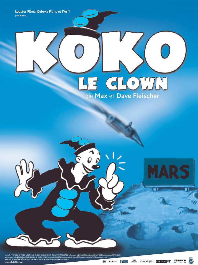 Affiche Koko le clown