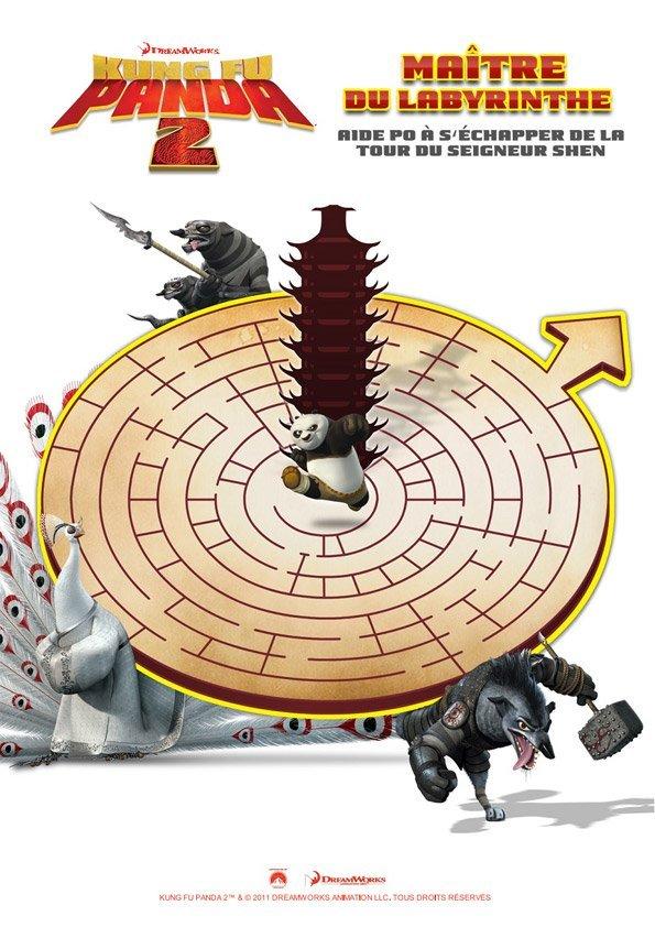Kung-Fu Panda : le labyrinthe