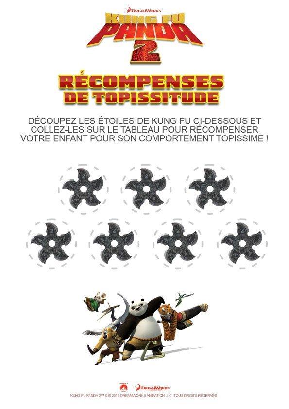 Kung-Fu Panda : récompense de topissitude 1