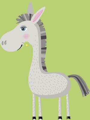 Comptine L'âne