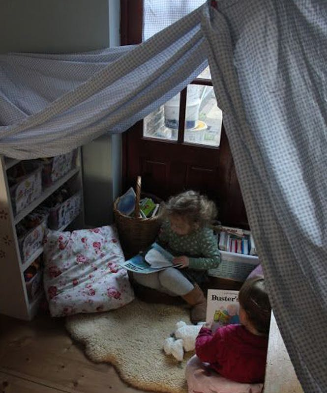 L'atelier sous la tente