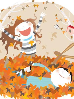 L'automne au coin du bois