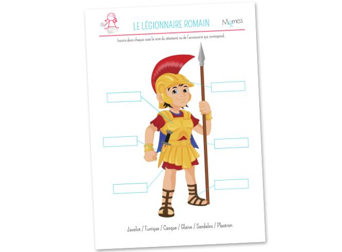 L'équipement du Légionnaire Romain