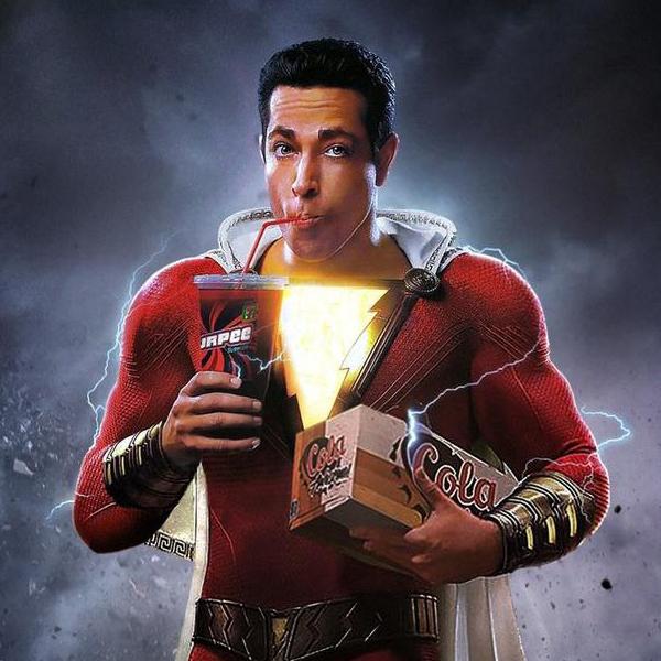 Shazam bande annonce captain marvel