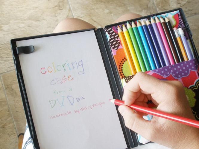 La boite à coloriage