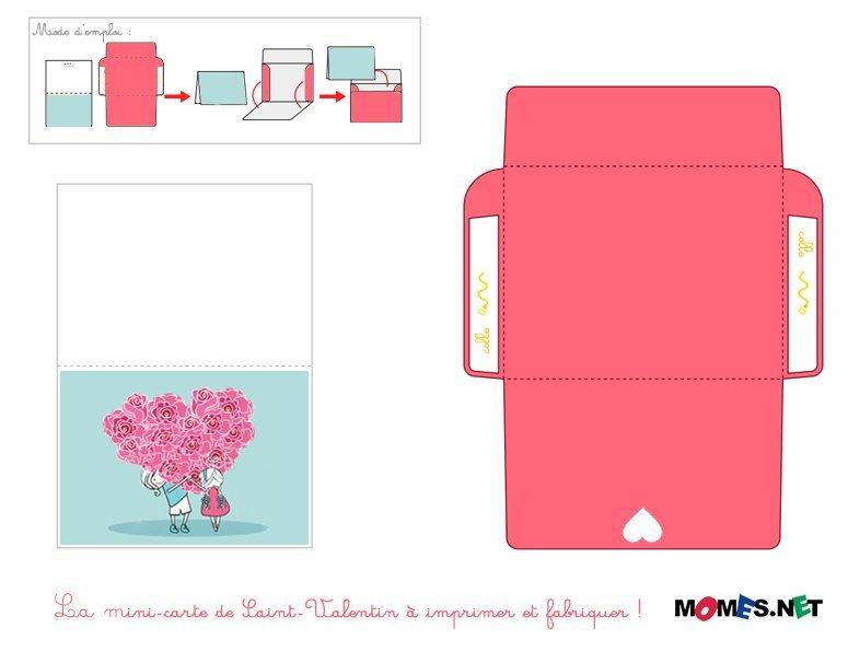 la carte saint valentin. Black Bedroom Furniture Sets. Home Design Ideas