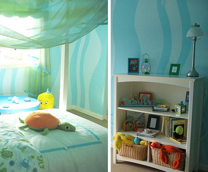La chambre La petite sirène