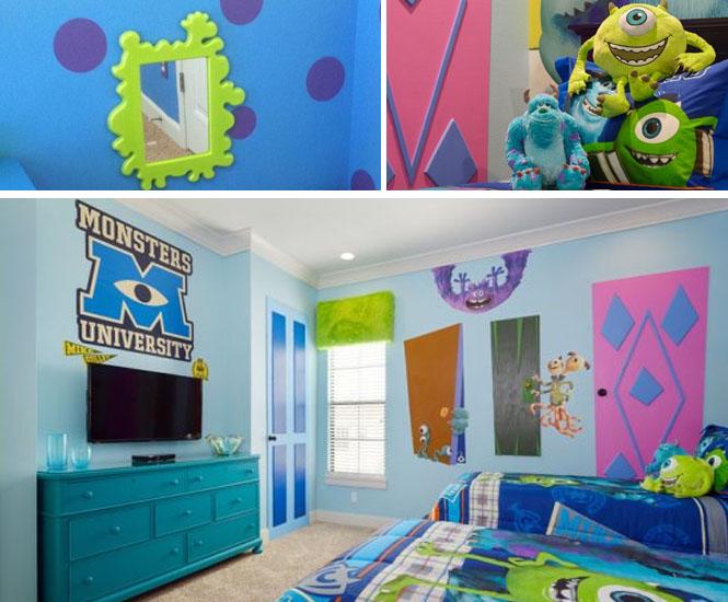 La chambre Monstres & Cie