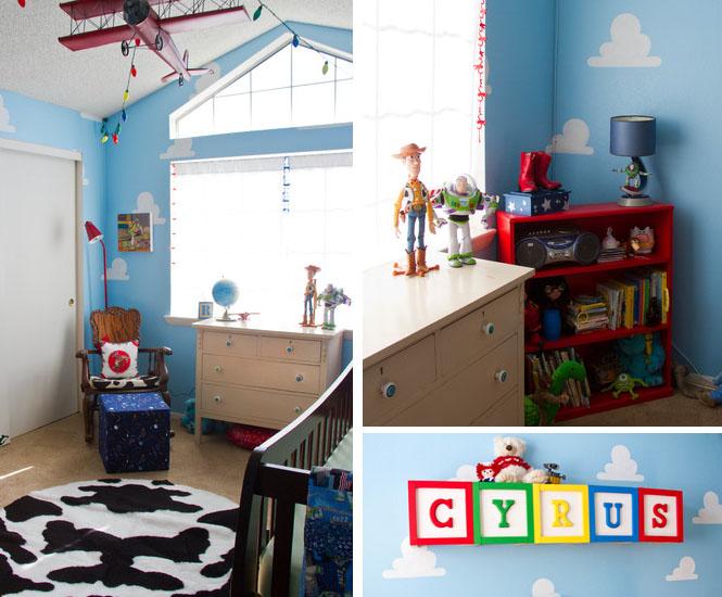 La chambre d\'enfant Toy Story - Momes.net