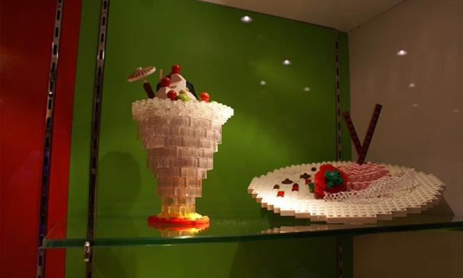 La coupe de glace LEGO