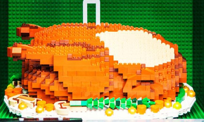 La dinde LEGO