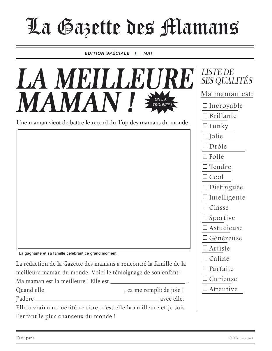 La Gazette Des Mamans Momesnet