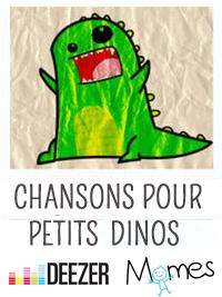 La playlist de Momes pour les p'tits dinos