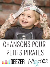 La playlist de Momes pour les p'tits pirates