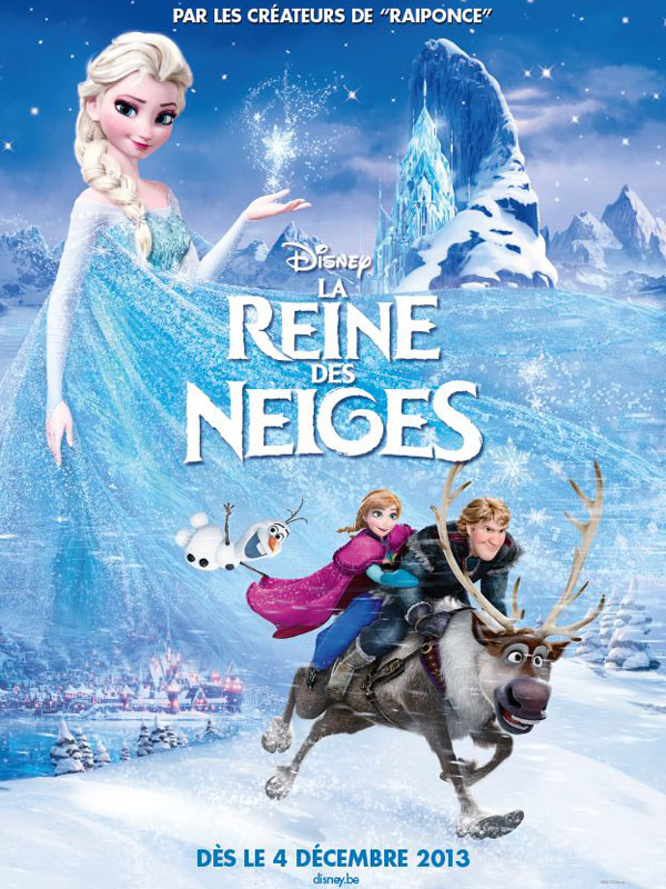 affiche reine des neiges