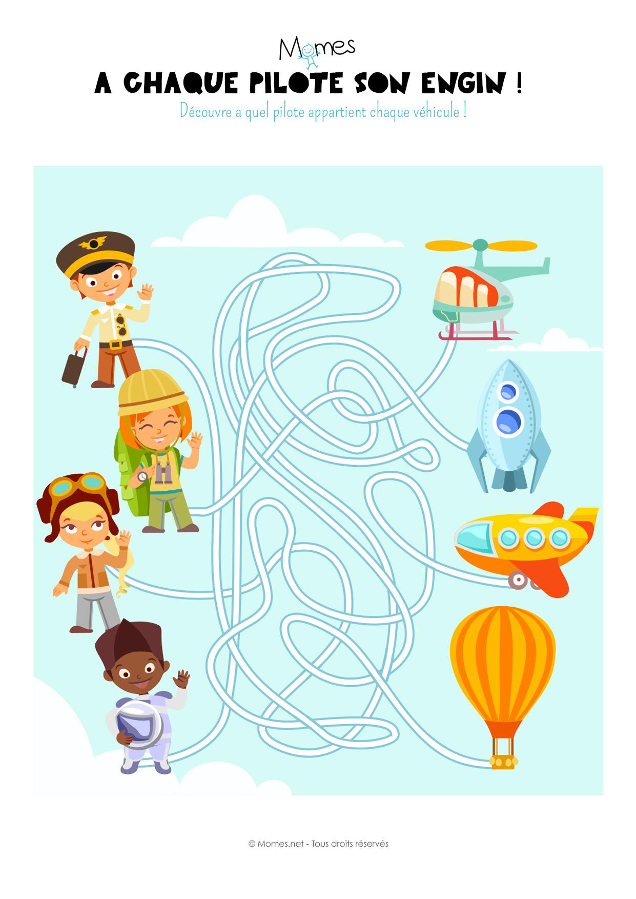 Labyrinthe des pilotes - Momes.net