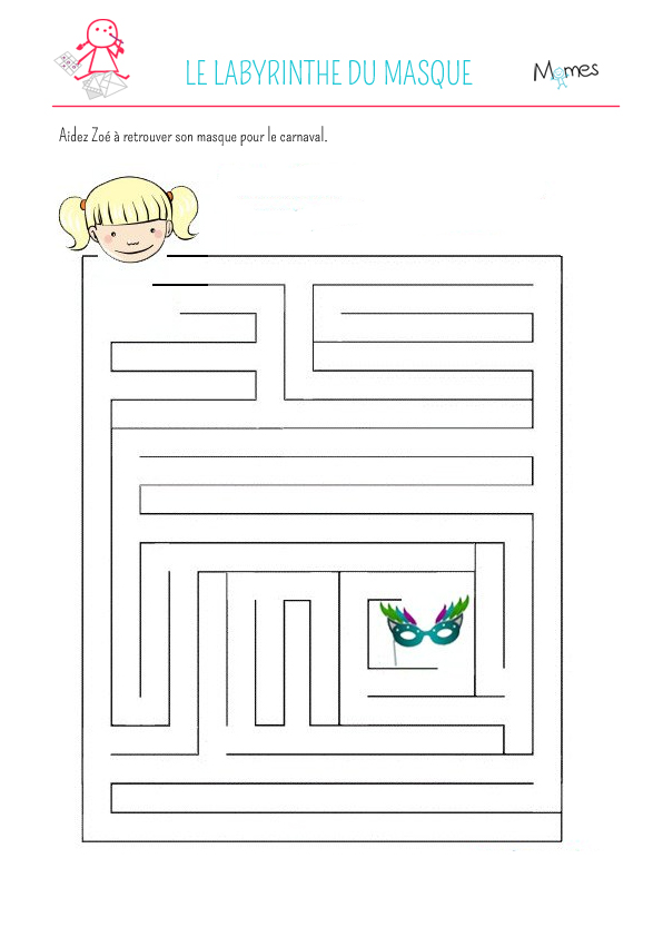 Labyrinthe du masque