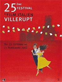 Affiche Le 25ème Festival du film italien de Villerupt