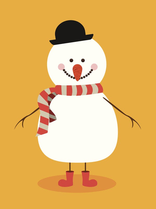 Le Bonhomme de neige Andersen