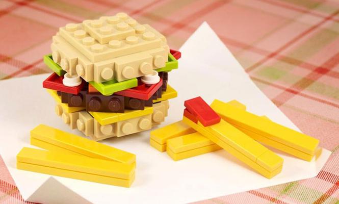 Le burger LEGO