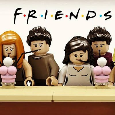 café de friends Lego Central Perk