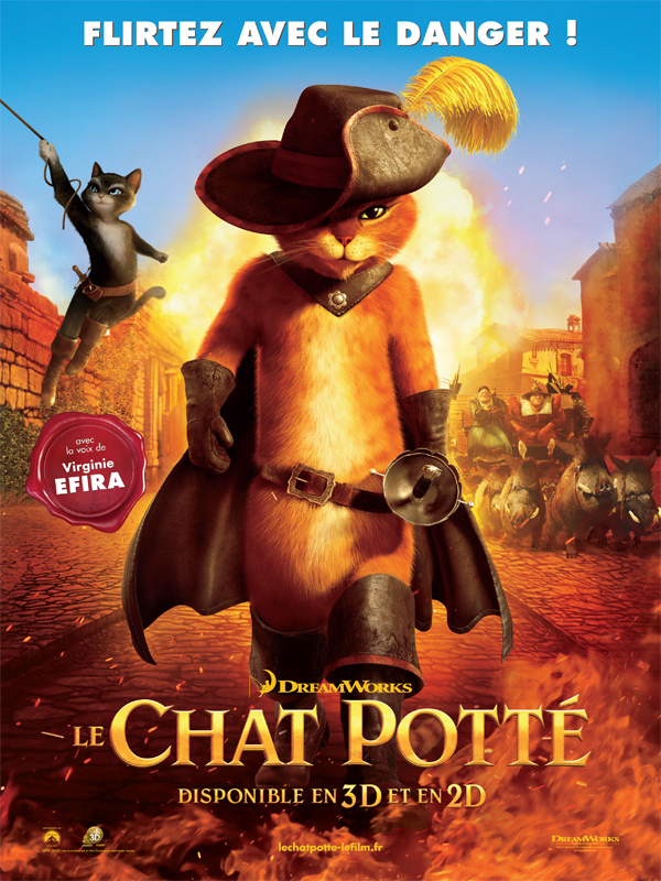 Affiche Le Chat Potté