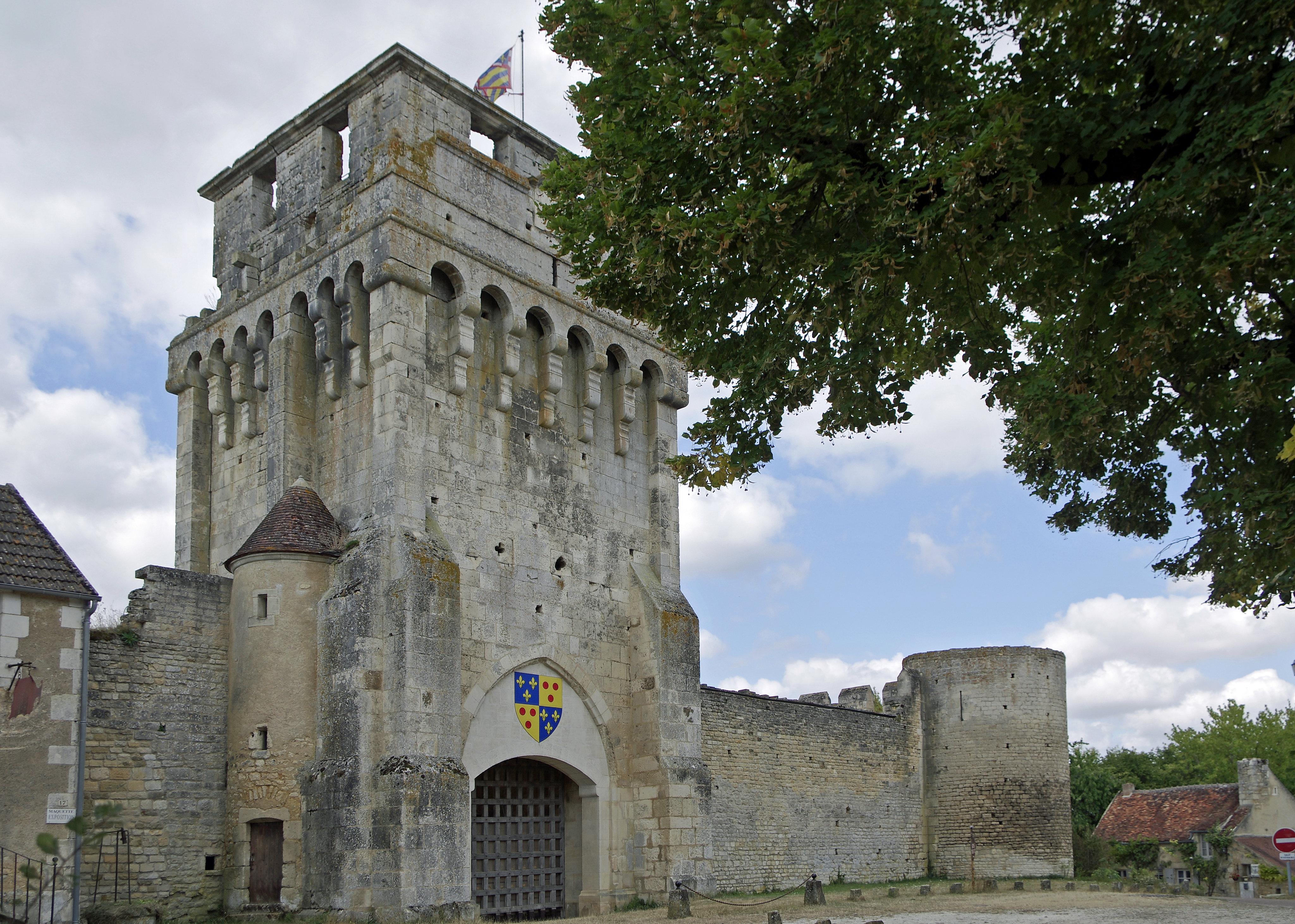Le chateau de Druyes