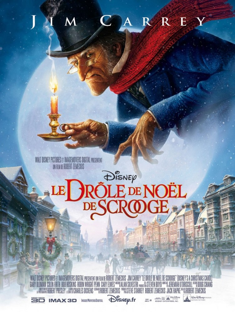 Affiche Le Drôle de Noël de Scrooge