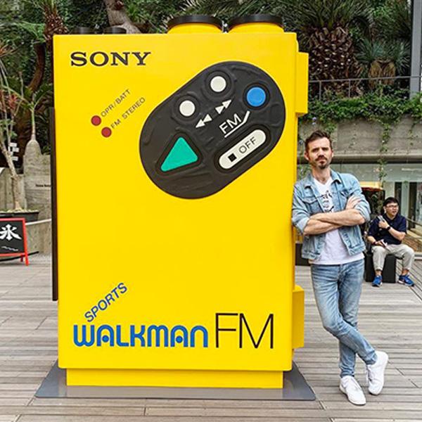 40 ans Walkman exposition sony nostalgie