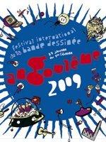 Affiche Le festival de la bande dessinée d'Angoulême 2009